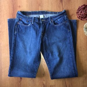 Lucky brand jeans sweet and low wide size 27
